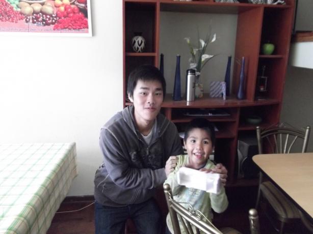 Peru Volunteer Jason Mar Child