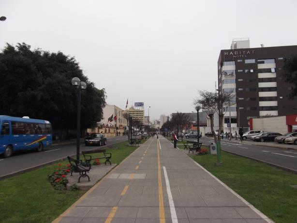 Peru Volunteer Jason Mar Sidewalk