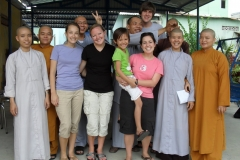 Teaching English to Buddhist Monks in Vietnam