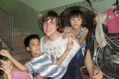Playing at a Children's Shelter in Vietnam