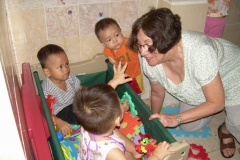 Harriet Volunteer Teaching in Vietnam