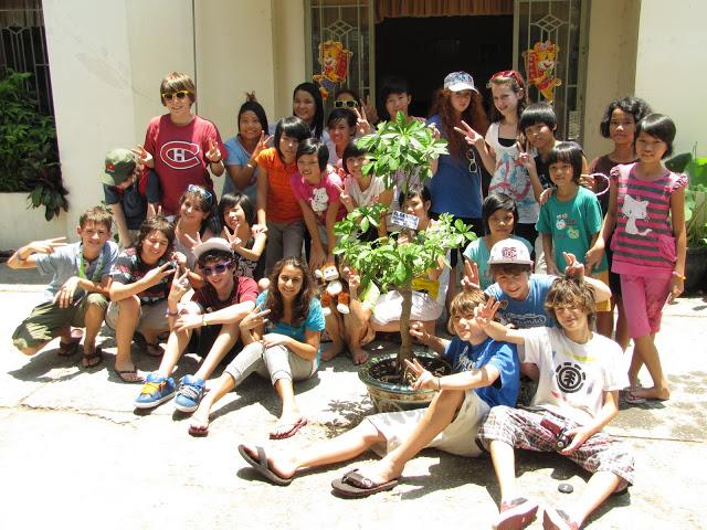 Elsa High Students Volunteering in Vietnam