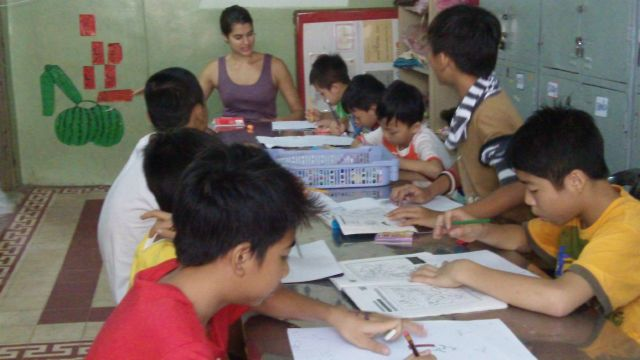 Teaching at a Children's Shelter in Vietnam