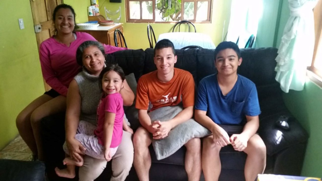 Costa Rica Host Families