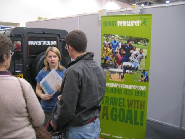 Gap Year Show Sports Venturer