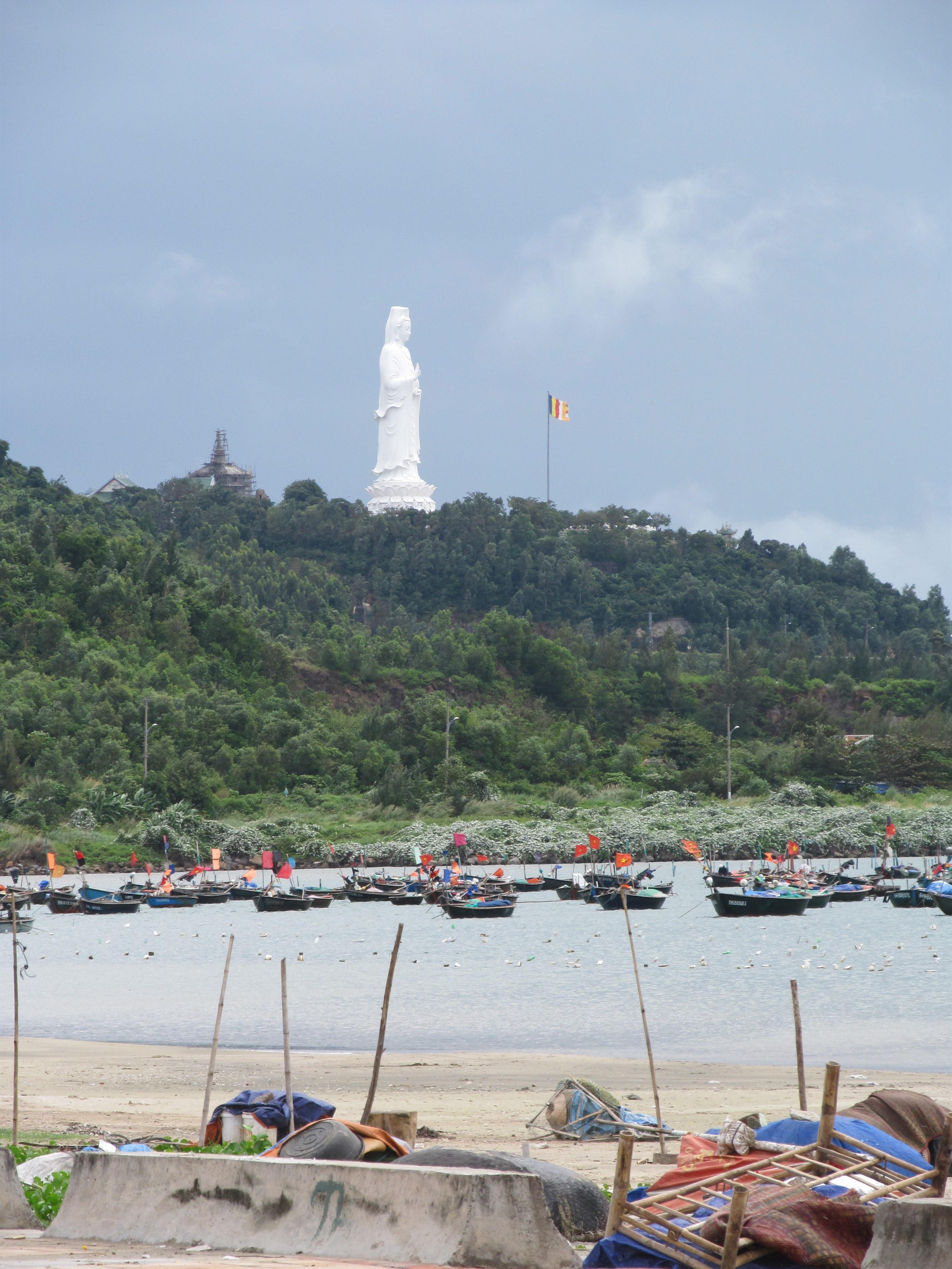 Lady Buddha Statue in Danang, Vietnam