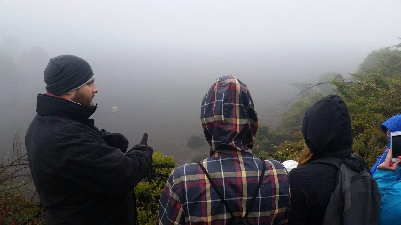 Irazu Volcano Jesus Guide