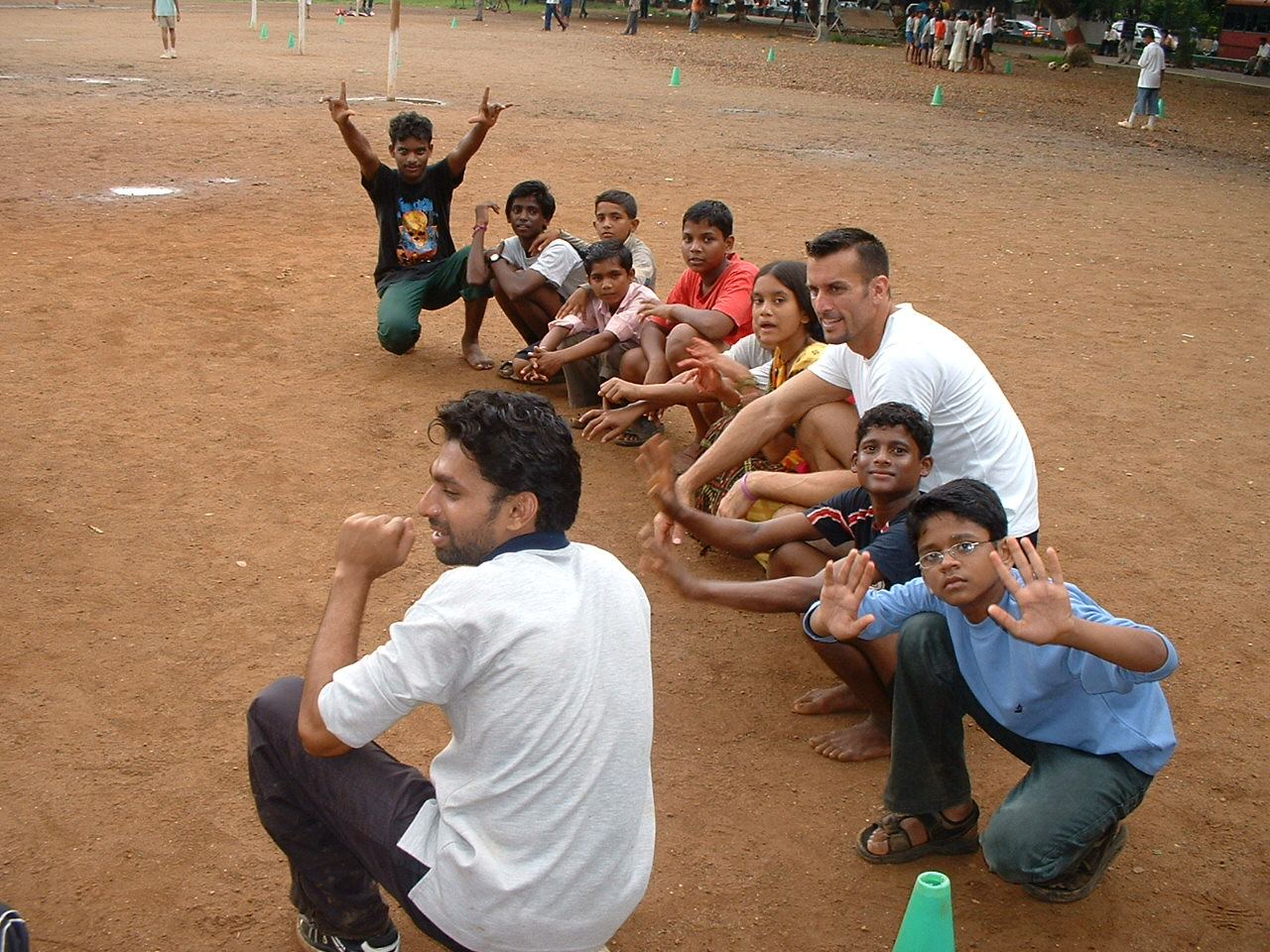 Mike Reeder India Volunteer Games