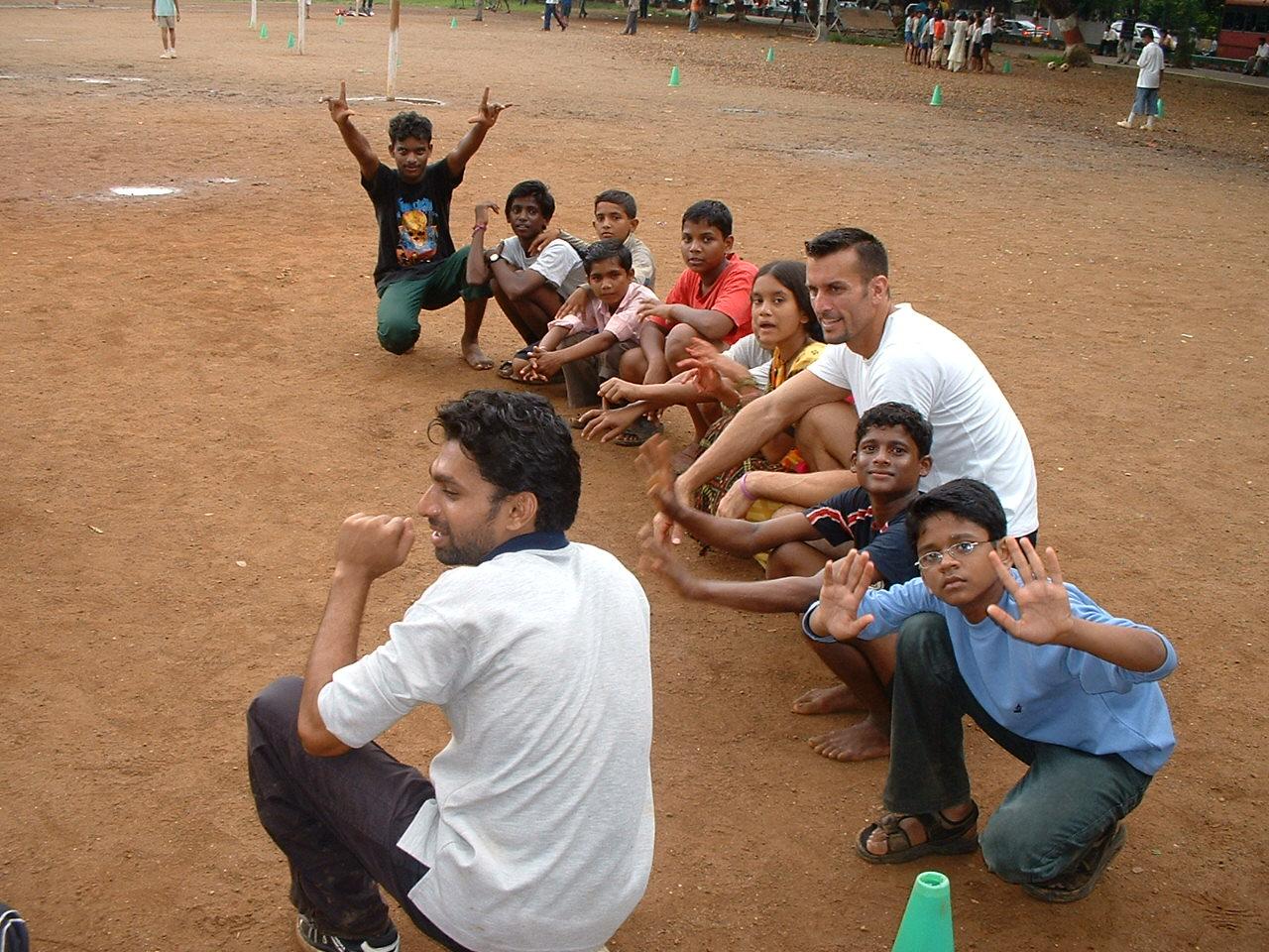 Mike Reeder India Volunteer Games