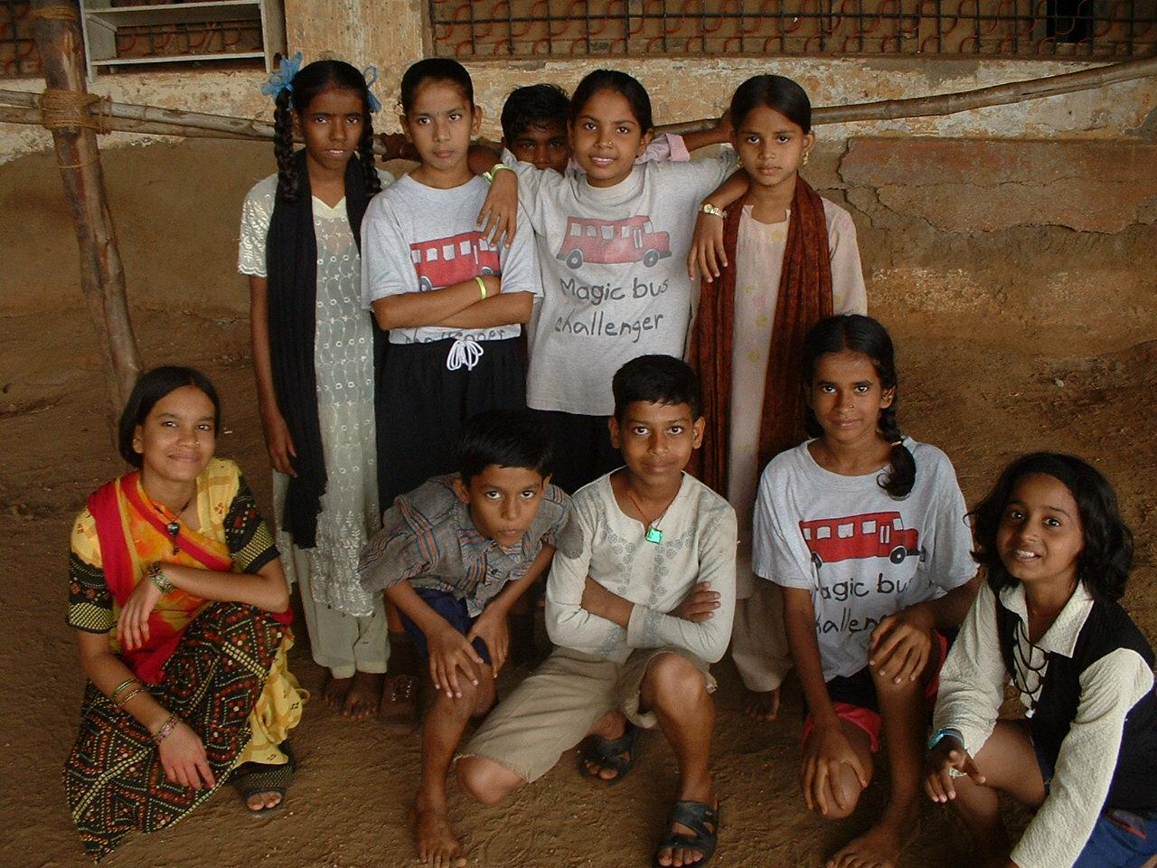 Mike Reeder India Volunteer Children