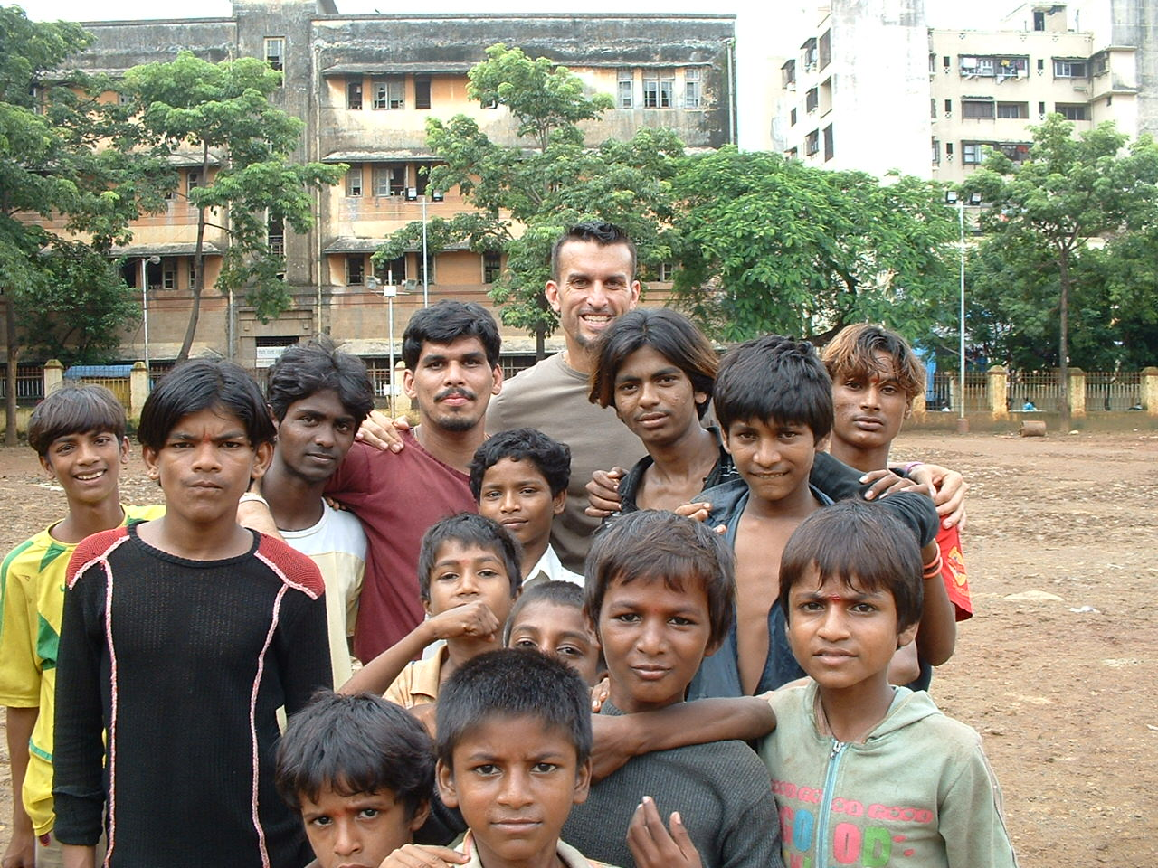 Mike Reeder India Volunteer Mumbai