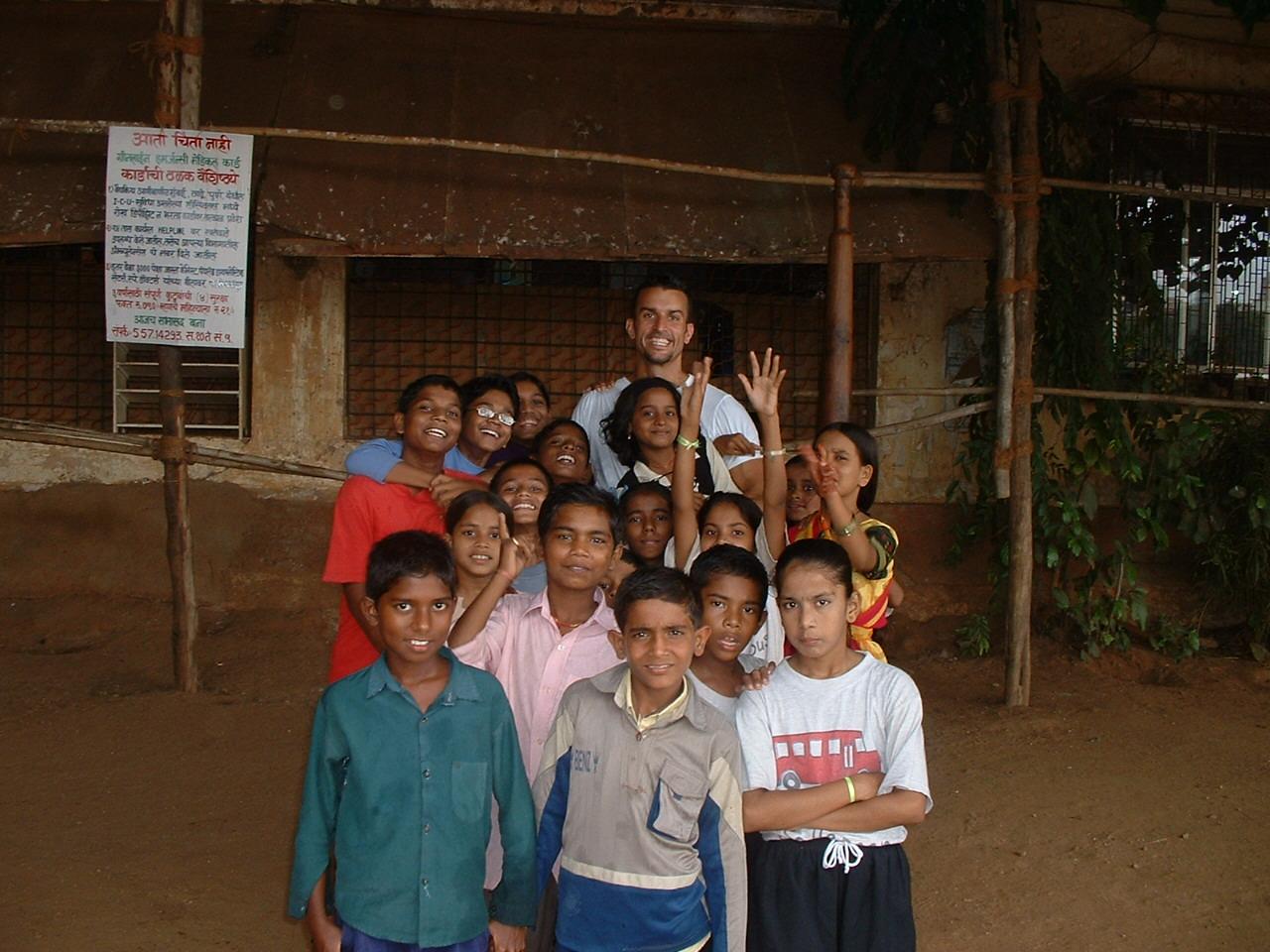 Mike Reeder India Volunteer Smiles