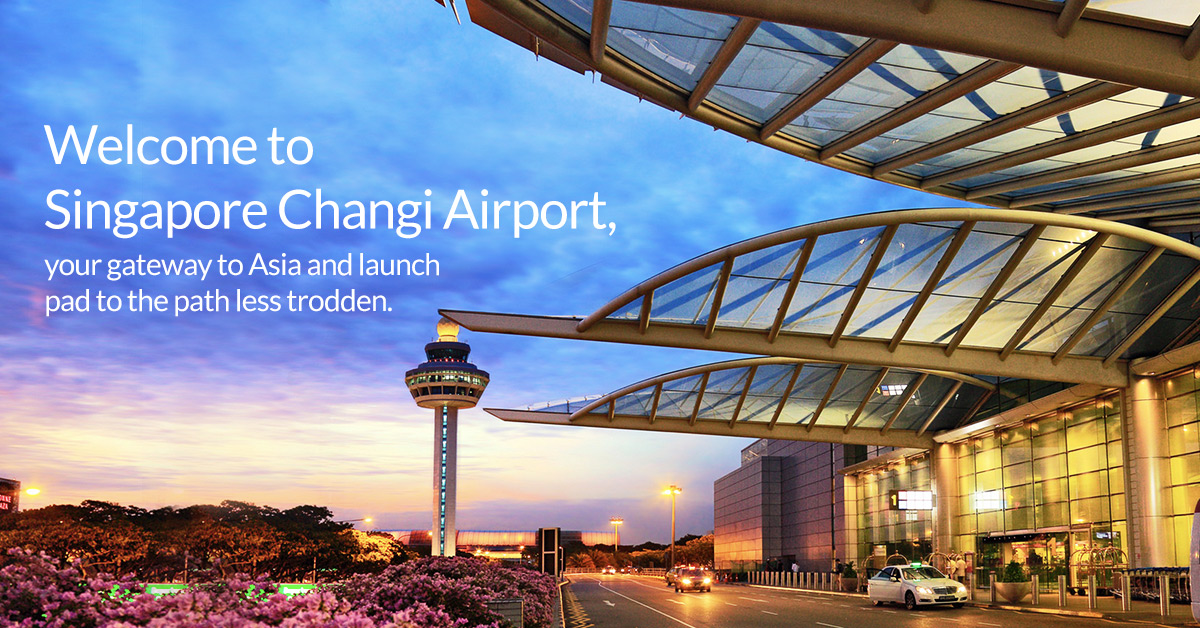 Changi Airport Entrance