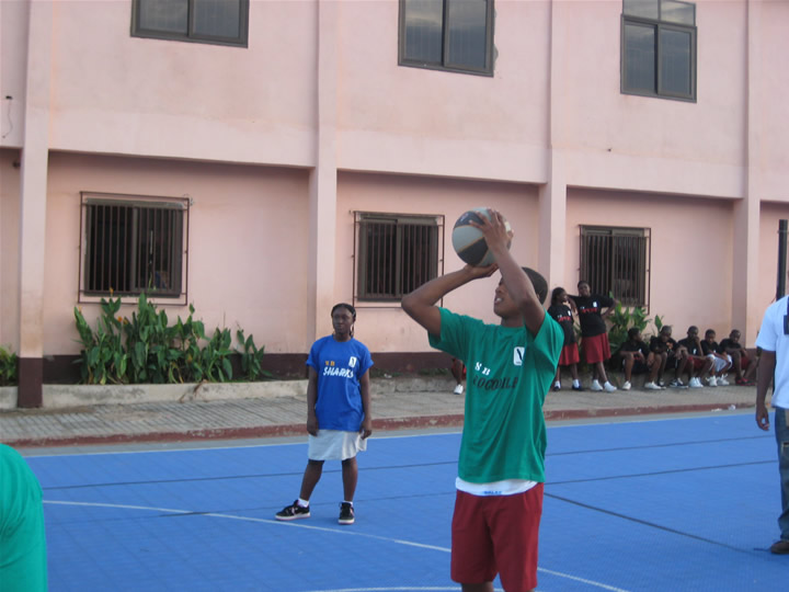 Ghana Africa Basketball Coaching Free Throw