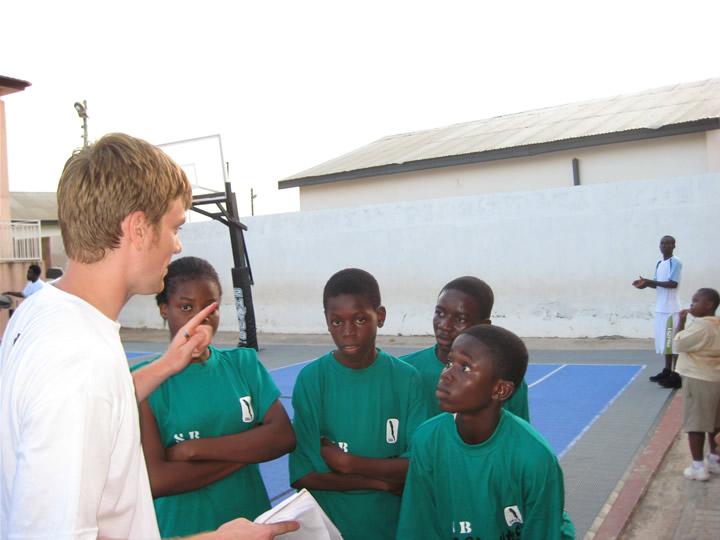 Ghana Africa Basketball Coaching Strategy