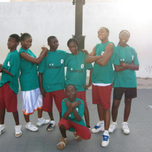 Ghana Africa Basketball Coaching Team