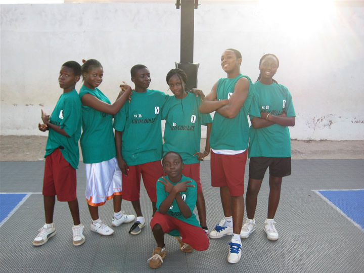 Ghana Basketball Coaching Volunteer Team