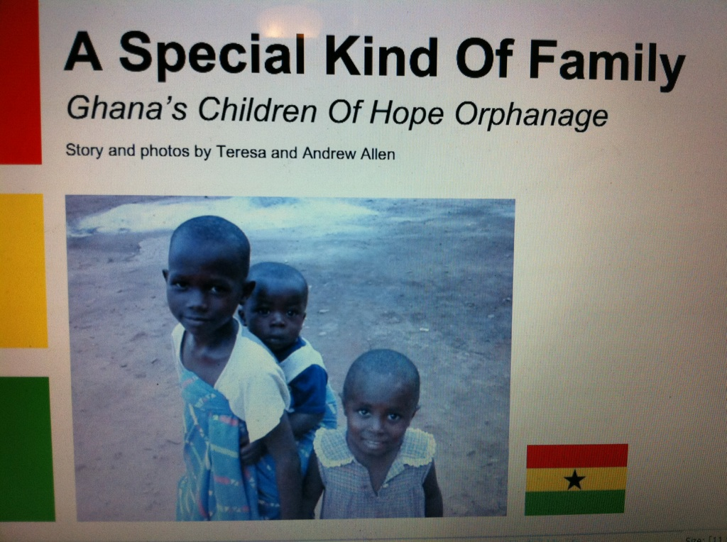 Ghana Book Orphanage Volunteering