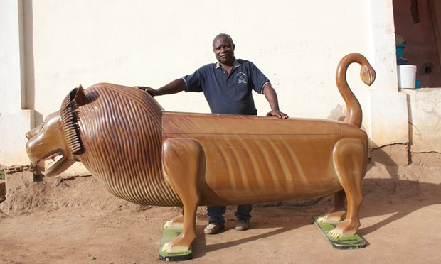 Fantasy Coffins of Ghana