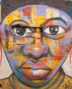 Ghana West Africa Art Portrait