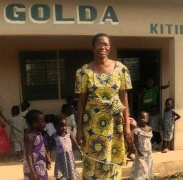 Ghana Volunteer Mary Afari