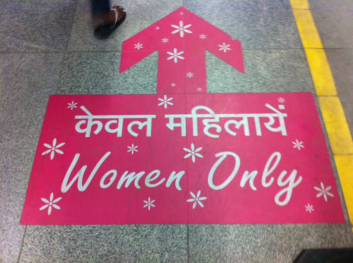 India Delhi Metro Women Only