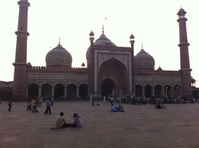 Jama Masjid Mosque in New Delhi, India