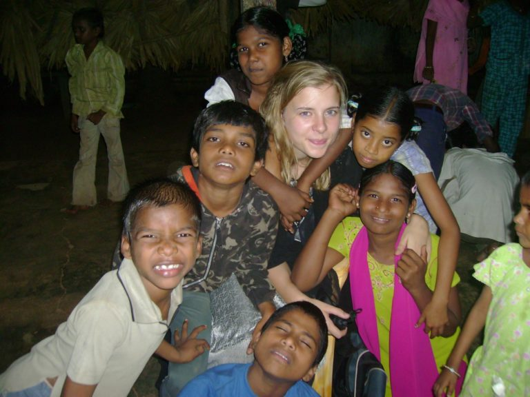 India Teaching Volunteer Anna Group