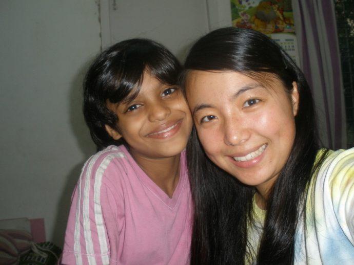 India Volunteer All Smiles