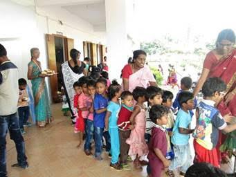 India Xmas Party Kids
