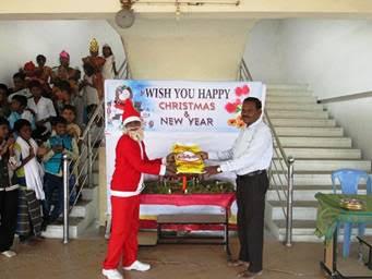 India Xmas Santa Claus Gift