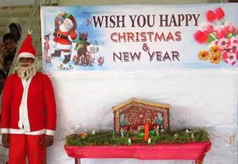 India Xmas Santa Claus