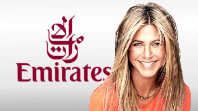 Jennifer Aniston for Emirates
