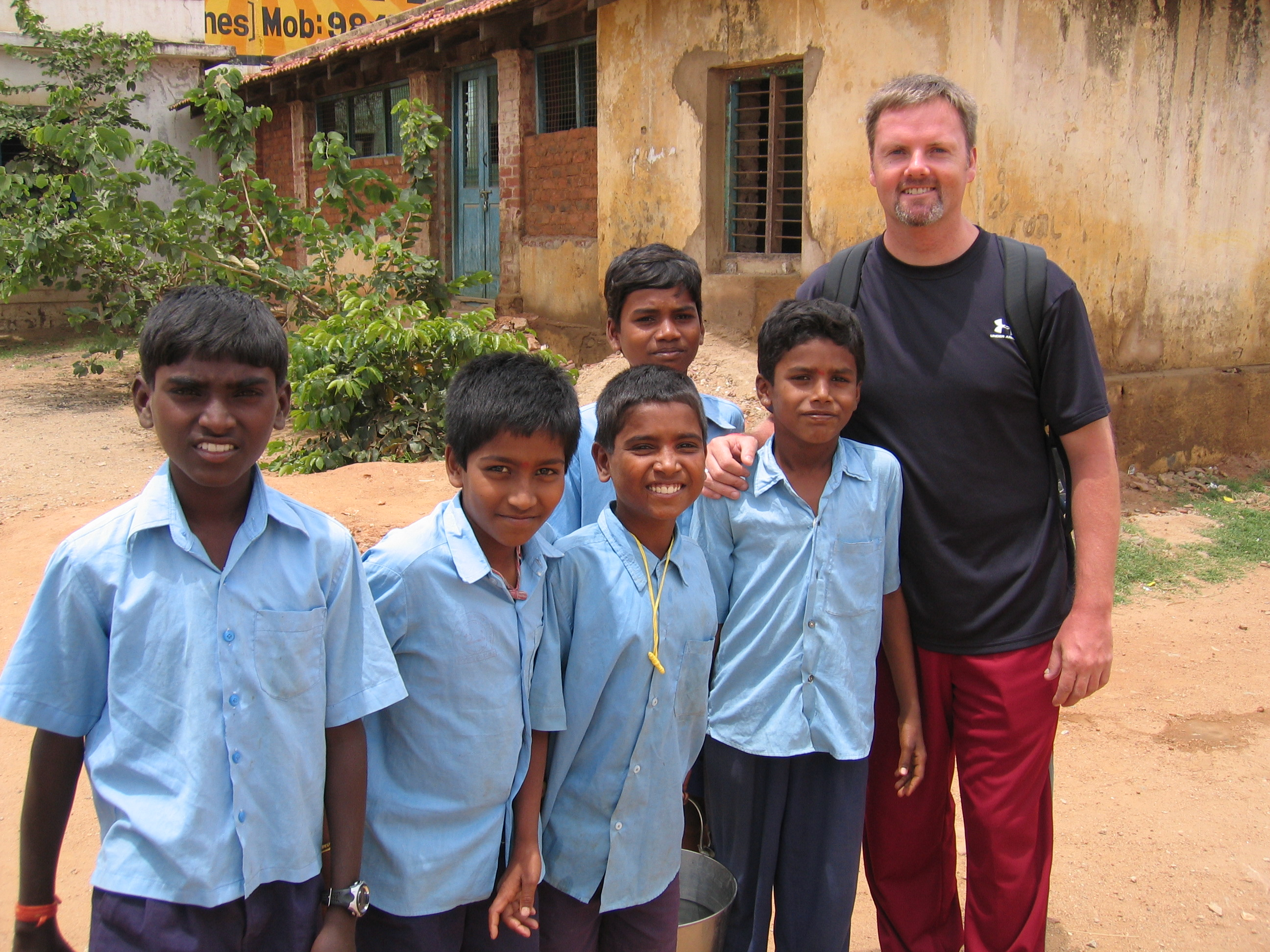 Kengeri School - Scott Burke - Volunteering Bangalore India