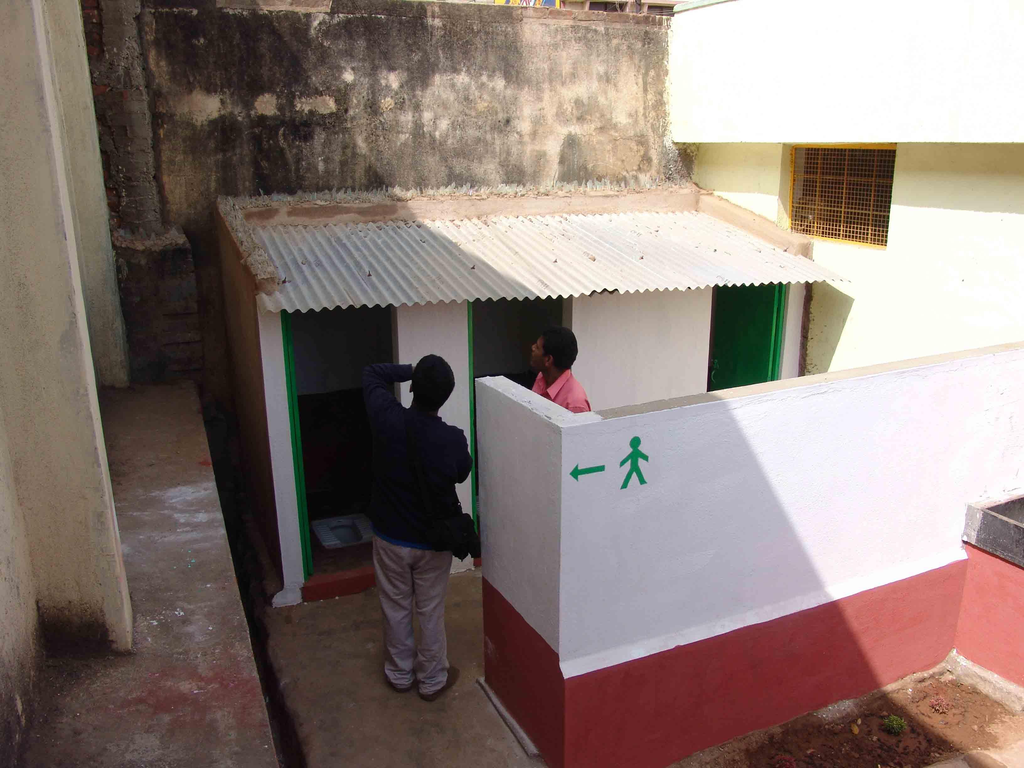 Kengeri School - Inspection - Volunteering Bangalore India