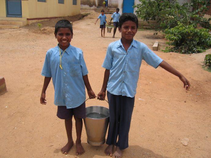 Kengeri School - Water - Volunteering Bangalore India
