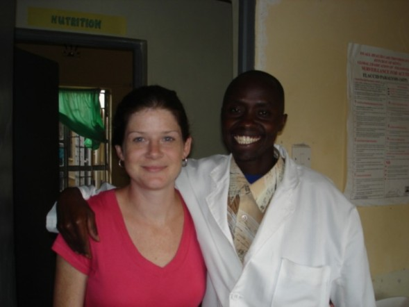 Kenya Medical Volunteer Anna Ford