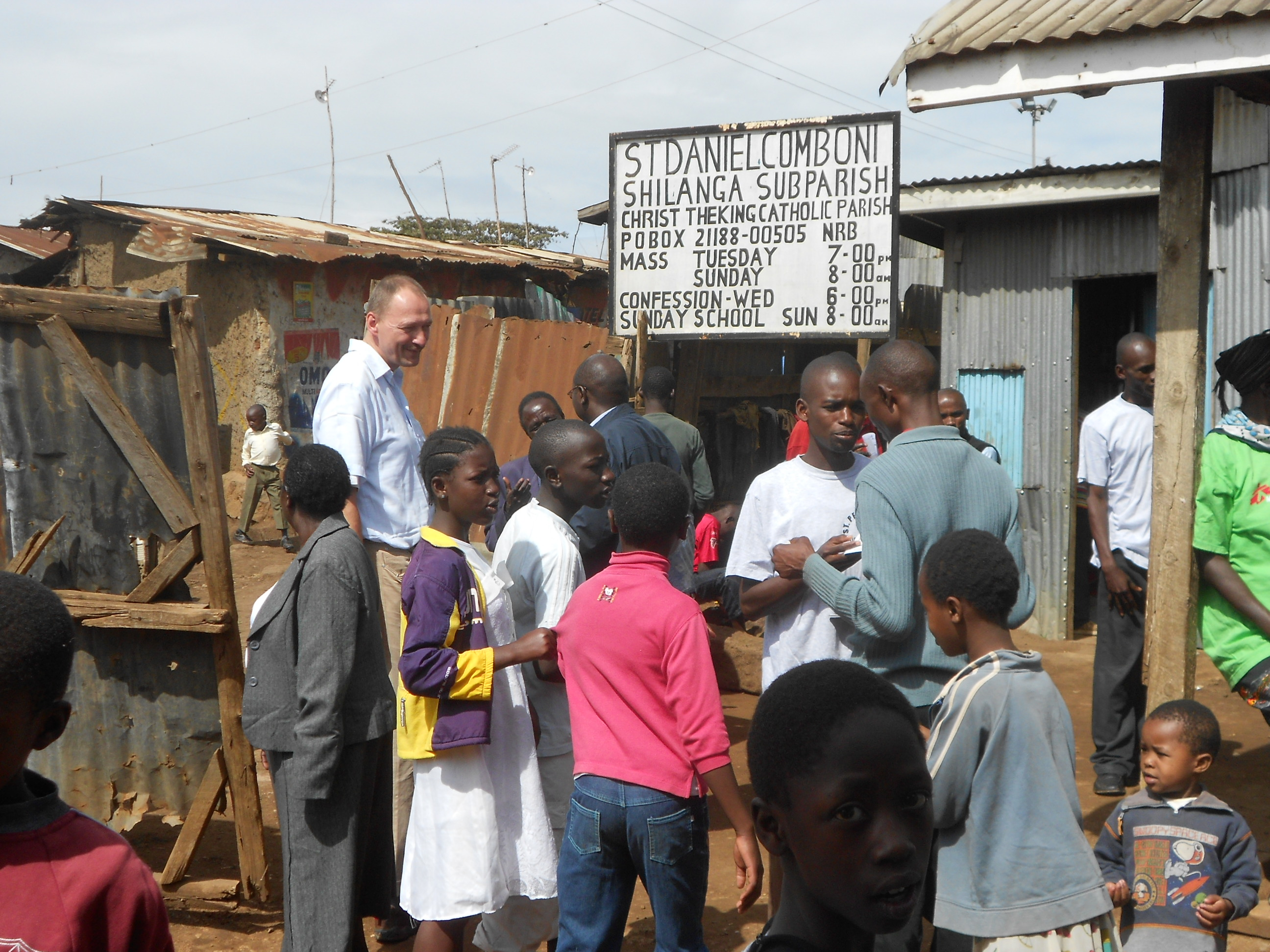 Kibera Nairobi Volunteering Pastor