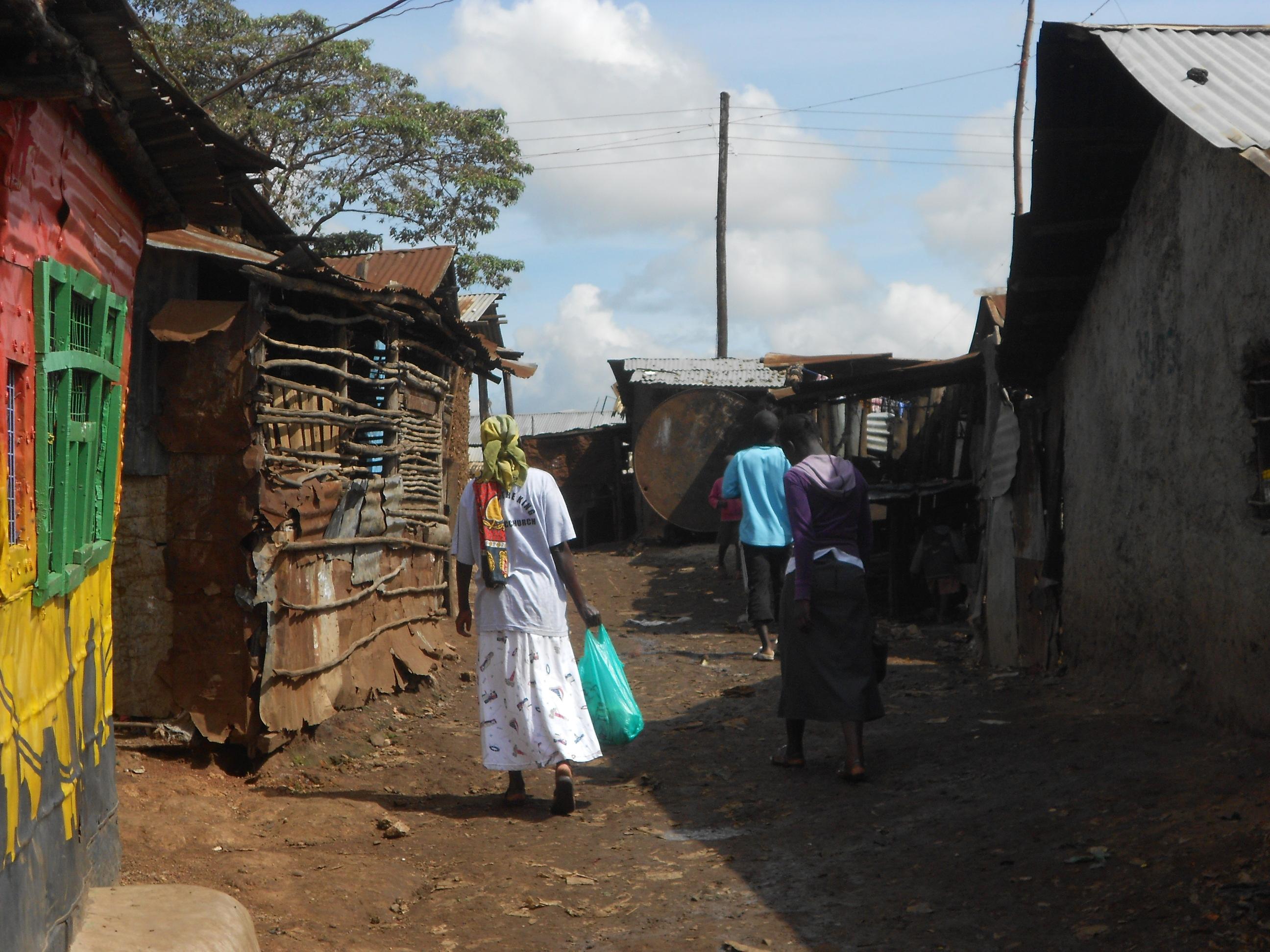 Kibera Nairobi Volunteering Locals