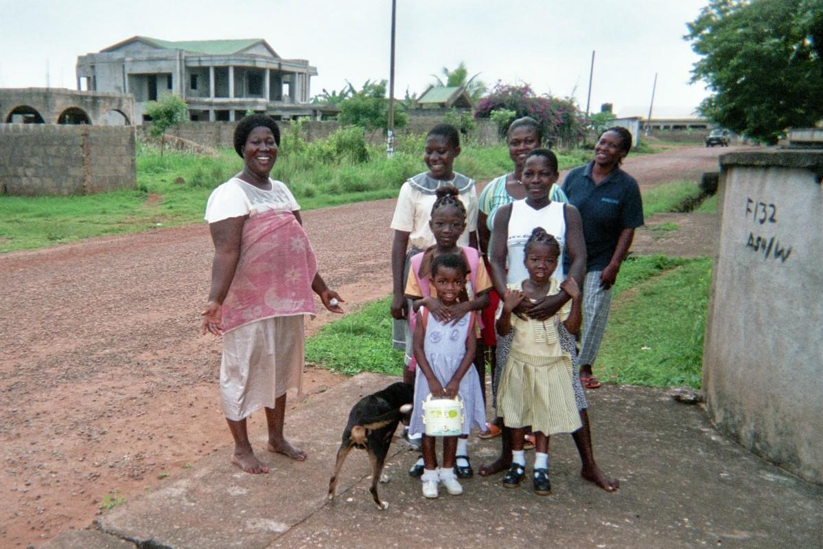 Lindsey Elliott Ghana Host Family