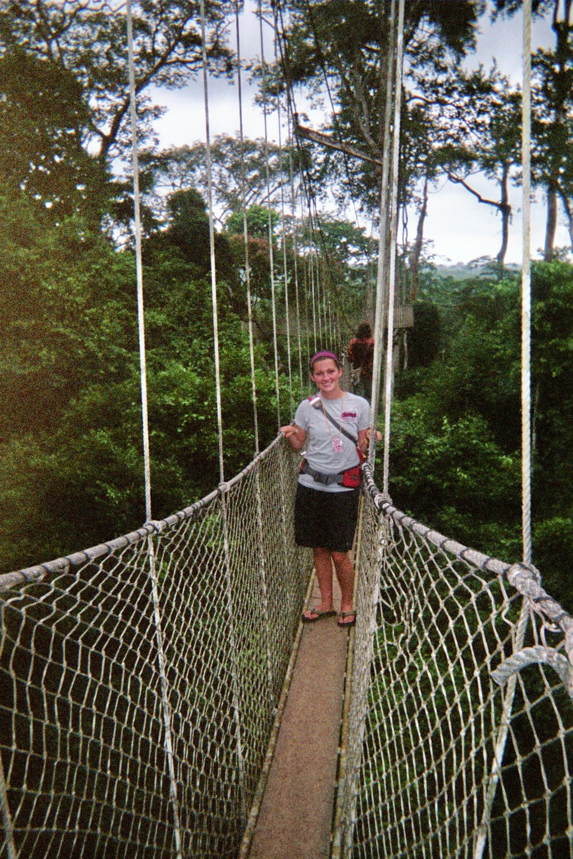 Lindsey Elliott Ghana Kakum National Park