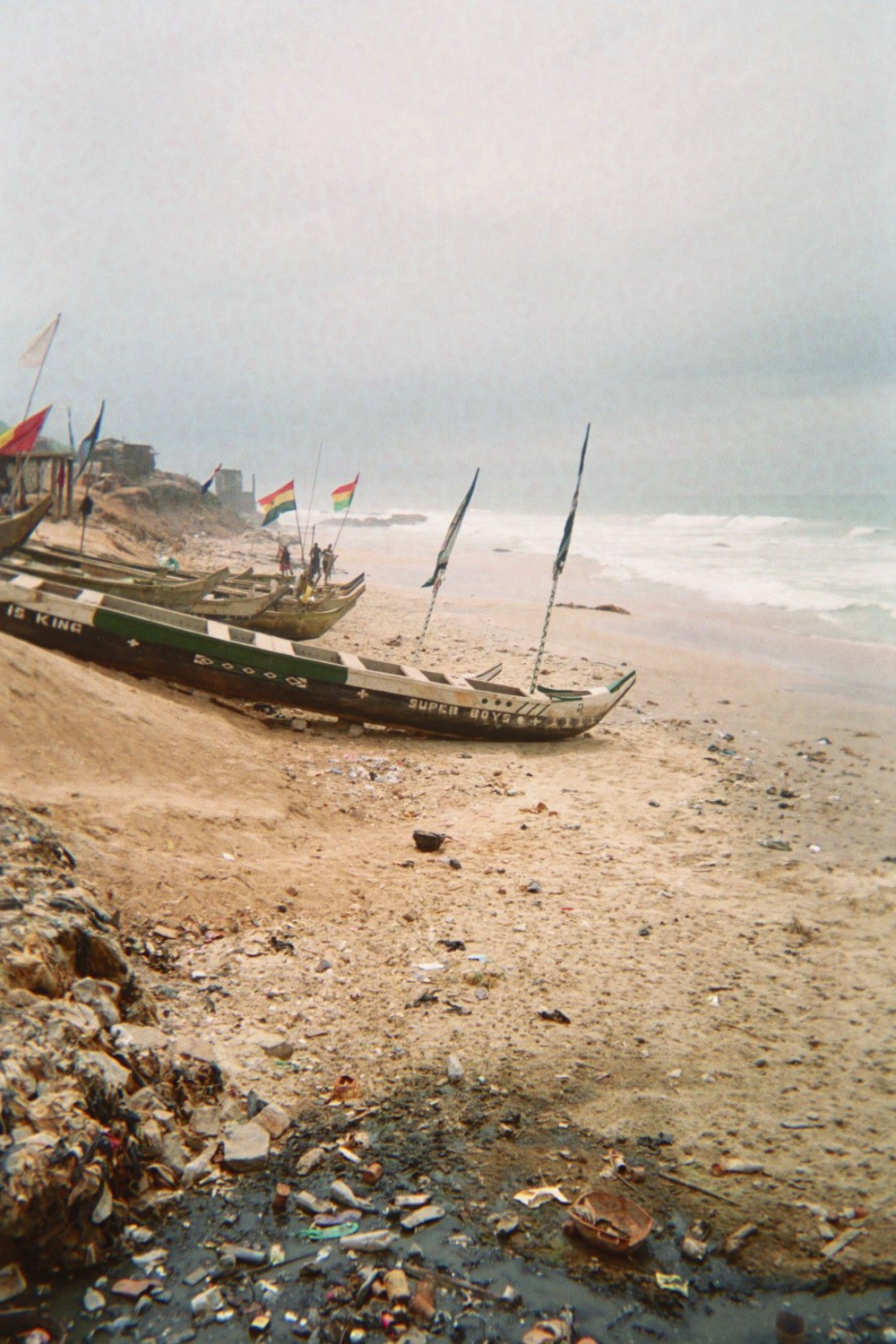 Lindsey Elliott Ghana Volunteer Boats