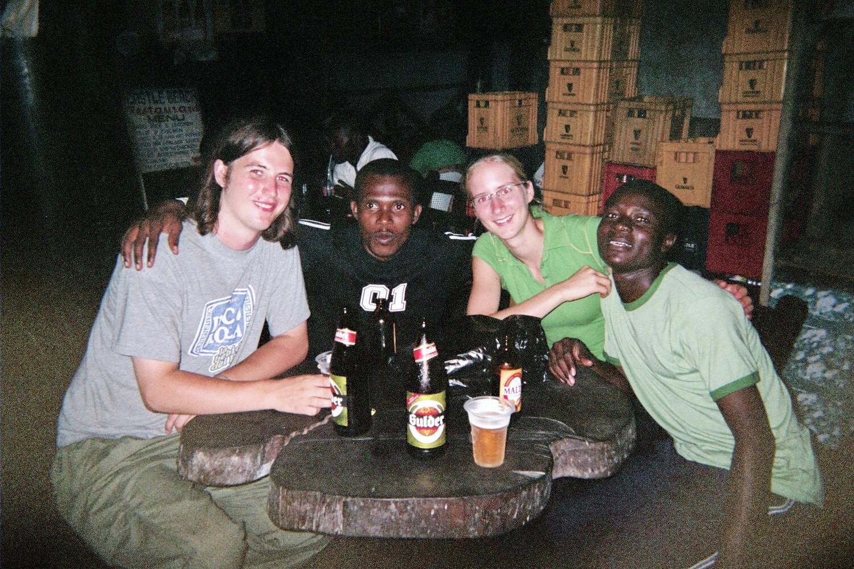 Lindsey Elliott Ghana Volunteer Restaurant