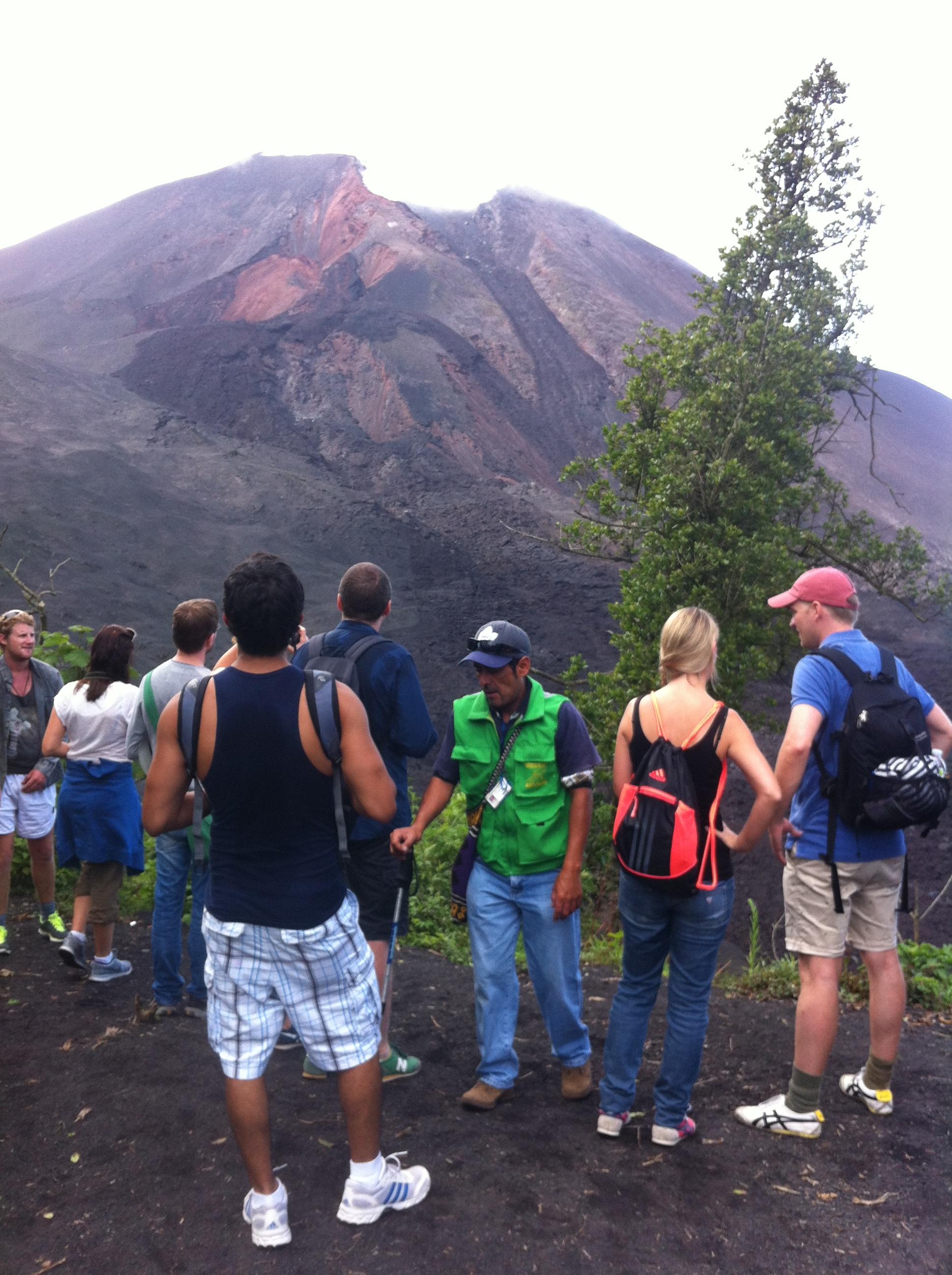 Hiking Pacaya Volcano