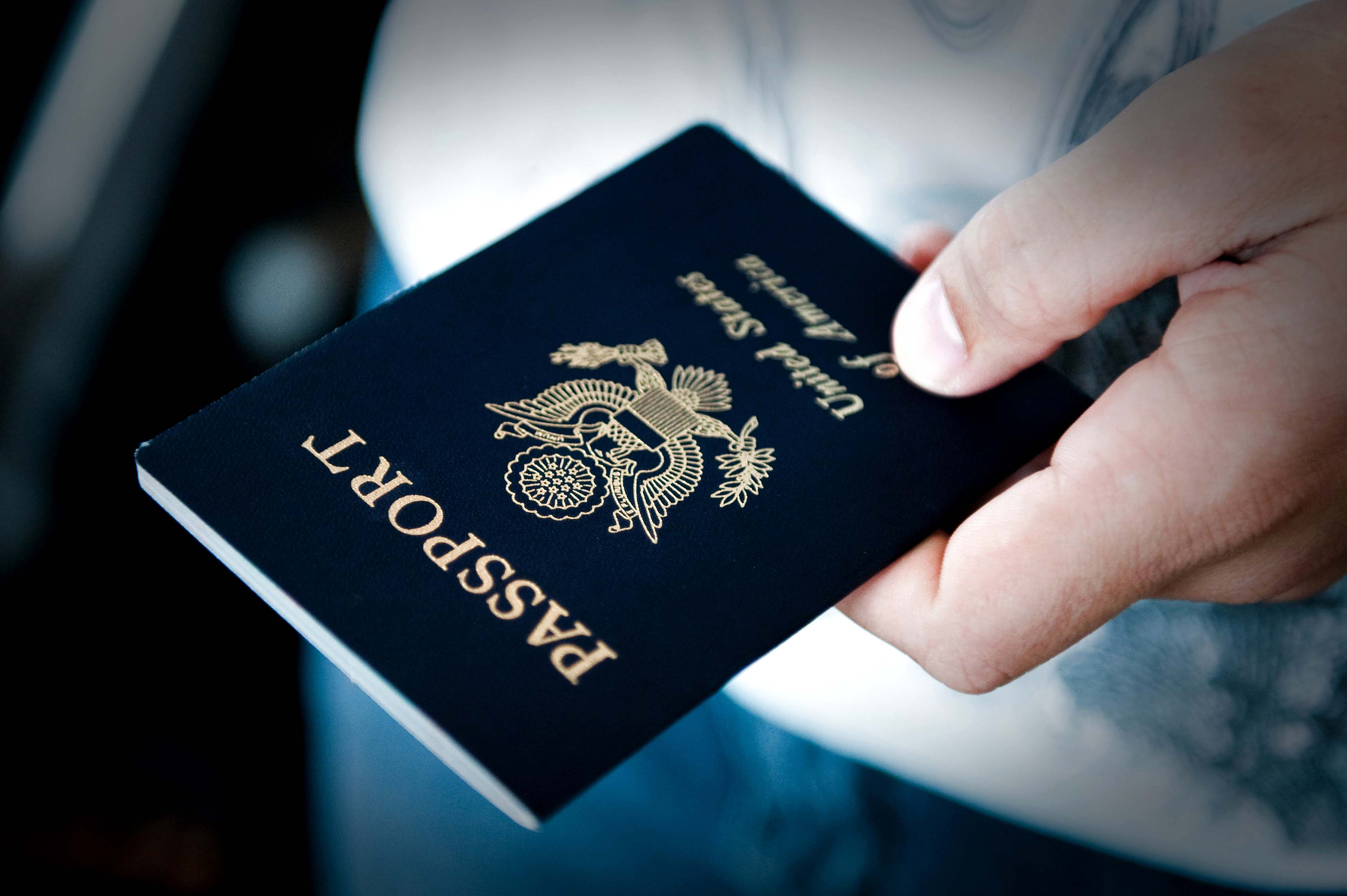 Passport when Volunteering Abroad
