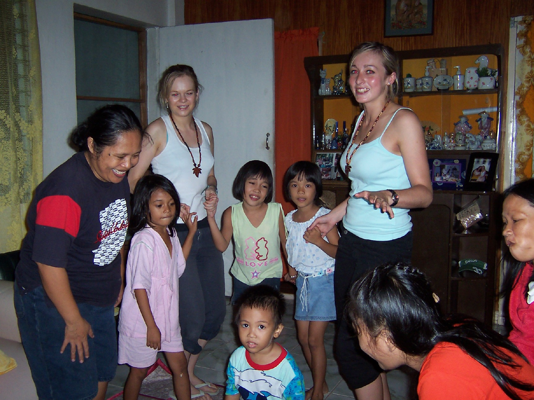 Philippines Kathryn Kirk Host Family