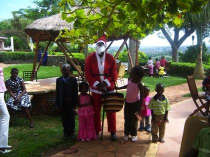 Santa Claus Uganda Africa