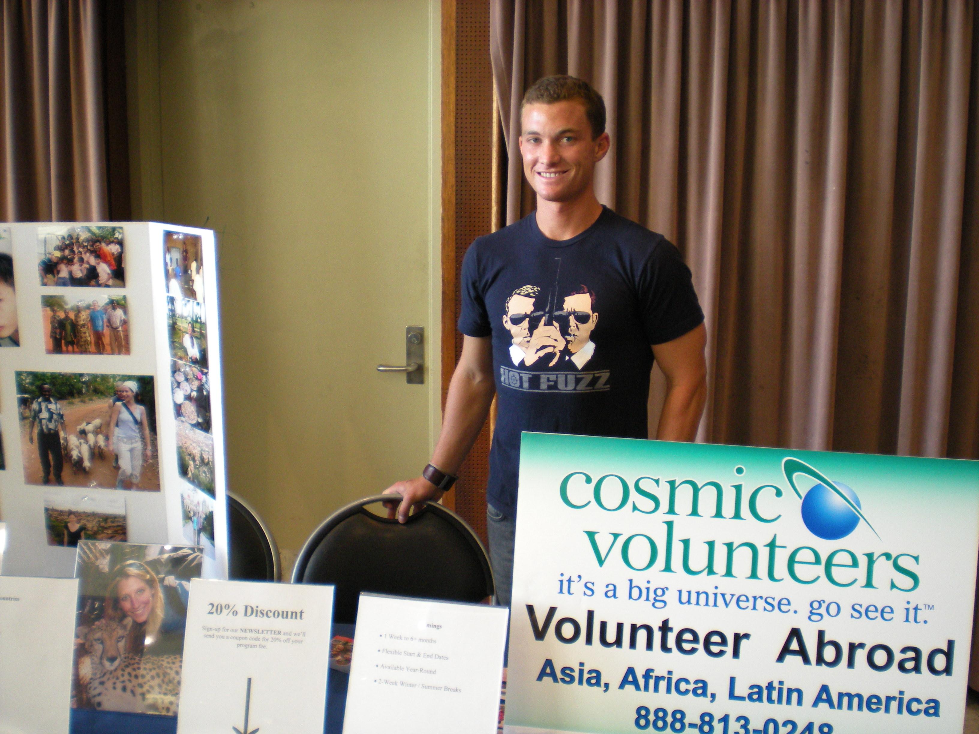 UCLA Study Abroad Fair 2008 Michael Cosden-Spiker