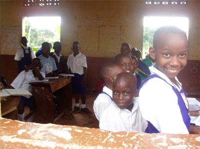 Uganda Teaching Volunteer Classroom Smiles