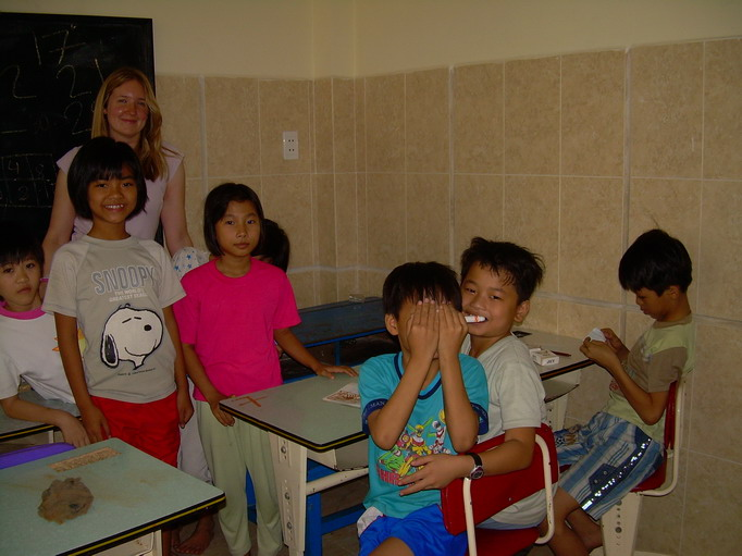 Vietnam Volunteer Catherine Gradel Fun